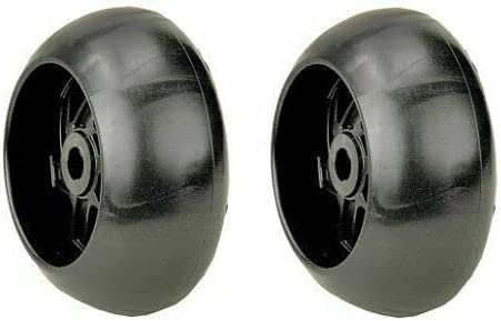 Lawn store Mower Parts Set of 2 NEW before selling Part Wheels with Compatible Numb Deck