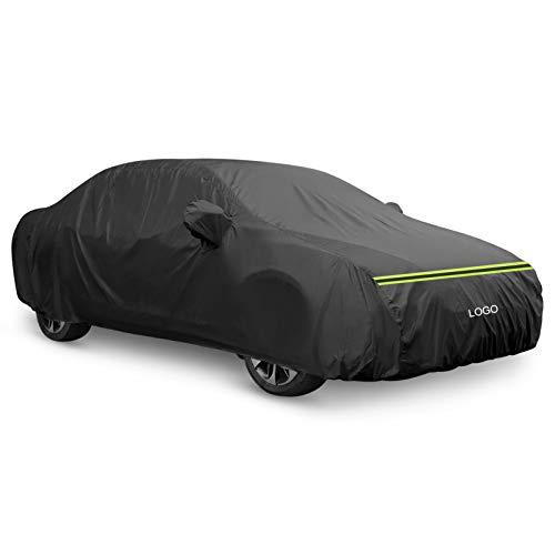 VIVICL AutoAbdeckung Kompatibel mit Volkswagen VW Jetta Passat Phaeton Autogarage Autoabdeckung Vollgarage Stoff Wasserdicht Hagelschutz Eingebaut Baumwolle,Jetta