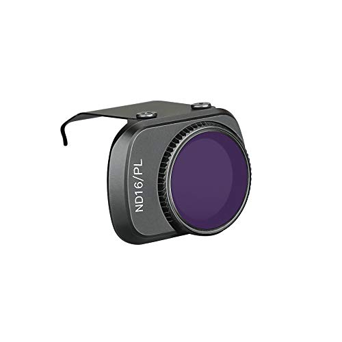HSKB Kamera Lens ND4-PL / ND8-PL / ND16-PL / ND32-PL / ND64-PL/CPL Filter Kompatibel mit DJI Mavic Mini Drone wasserdichte Lense Filter Kit Protector Cover Objektiv Case Zubehör (ND16-PL)