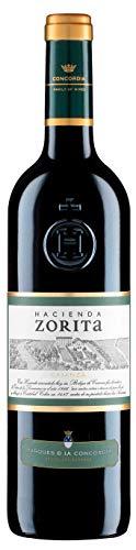 Caja de Hacienda Zorita Crianza Vino tinto - 6 botellas x 750 ml. - 4500 ml