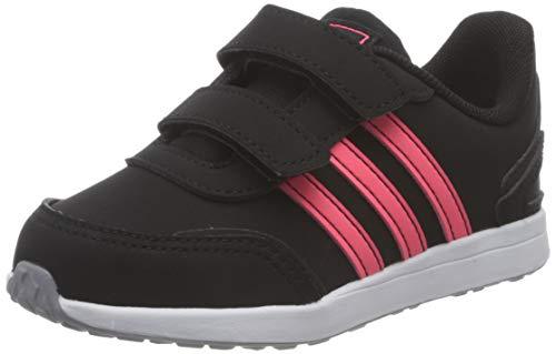 adidas Unisex Baby VS Switch 3 Sneaker, Core Black/Signal Pink/Glory Grey, 22 EU