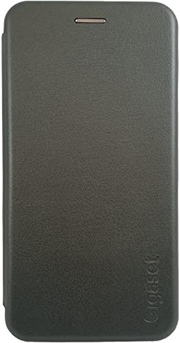 Gigaset Book Hülle für das GS290 – Original Zubehör zum Vermeiden von Schäden, Anti-Scratch, Full Body Schutzhülle – 360° Cover Hülle als R&um Schutz, Titanium Grey