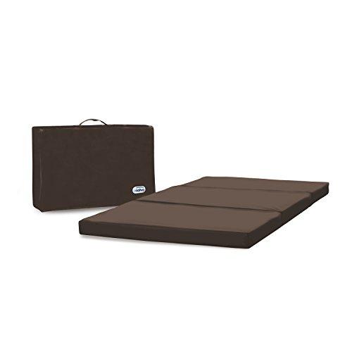 Asalvo 149112–Matratze für Reisebett dark chocolate