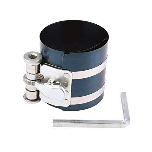 DEDC Kolbenring-Spannband Kolbenspannband 75mm Kolbenringspanner verstellbarer 53-175mm