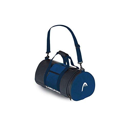 HEAD Uni Tasche Training Bag 27, Unisex, Training Bag 27, Rot/Marineblau, Einheitsgröße