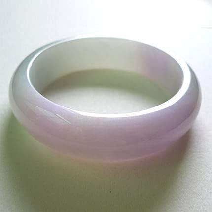 Xiaoqiao Myanmar Jade Light Purple 54-64mm Jacksonville Mall Elegant Bracelet Ranking TOP5 Prin