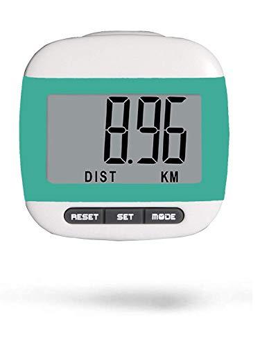 LEBEXY Schrittzähler Clip Einfache Pedometer Bedienung Testsieger Schritt/Distanz/Kalorien/Zähler Counter Fitness Tracker