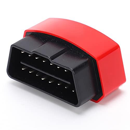 EVGATSAUTO Escáner Bluetooth OBD2 Lector de código inalámbrico, para ELM327 Escáner Bluetooth OBD2 Dispositivo de Herramienta de diagnóstico de Coche WiFi para PC iOS