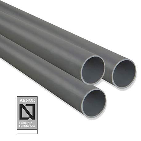 Tubo PVC Evacuacion (1 metro)_Cumple normativa AENOR (40