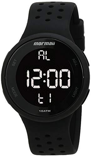 Relógio Digital Mormaii, MO7700AA/8P, Preto, Adulto-unissex