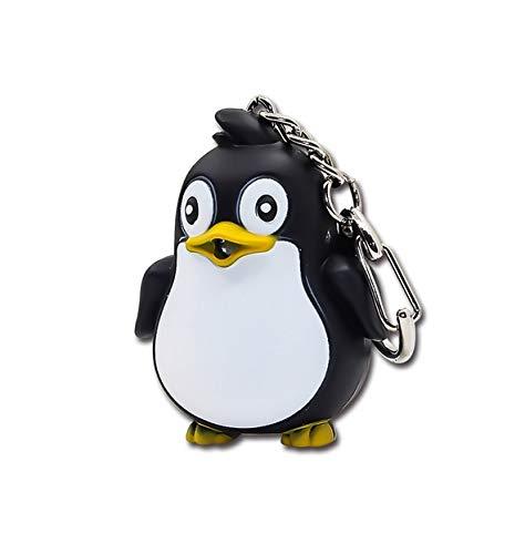 Familienkalender Pinguin Schlüsselanhänger Figur mit LED und Sound Pinguin   Südpol   Nordpol   Eiskappe   Geschenk  