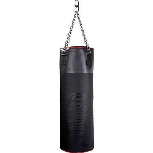 ENERGETICS Boxsack Jap Cordley 90 cm, schwarz/Grey/rot,90