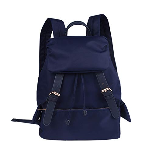 CMZ Backpack Women's Backpack Trendy Simple and Versatile Fashion Ladies Casual Nylon Oxford Cloth Travel Large-Capacity Backpack