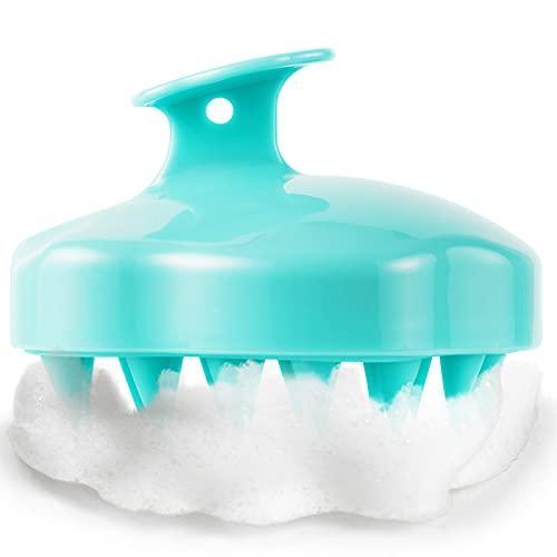 Scalp Massager Shampoo Brush, Wet and Dry Hair Stress Relax Scalp Exfoliator Hair Brush , Soft...