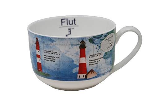 Leuchttürme Nordsee Jumbobecher XXL Becher groß Kaffeebecher Schüssel Schale