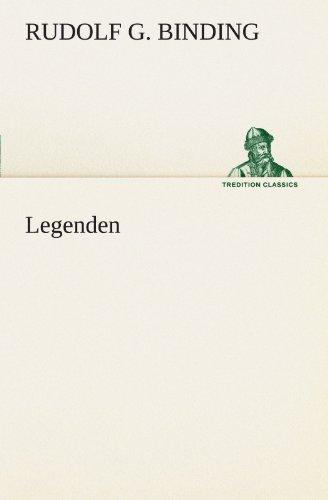 Legenden (TREDITION CLASSICS)