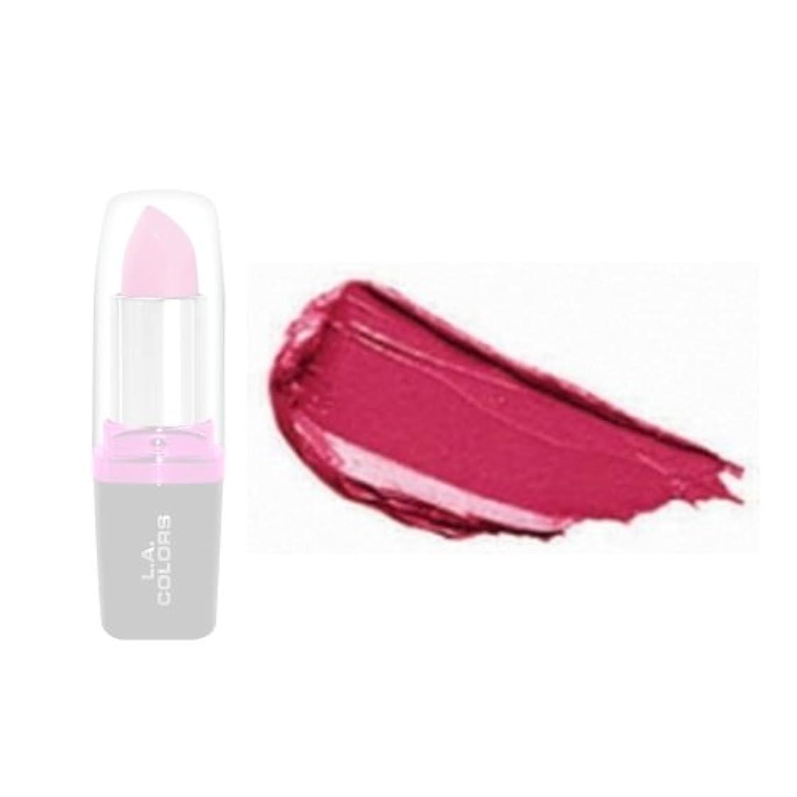 コーナー誓いストロークLA Colors Hydrating Lipstick - Razzle Dazzle (並行輸入品)