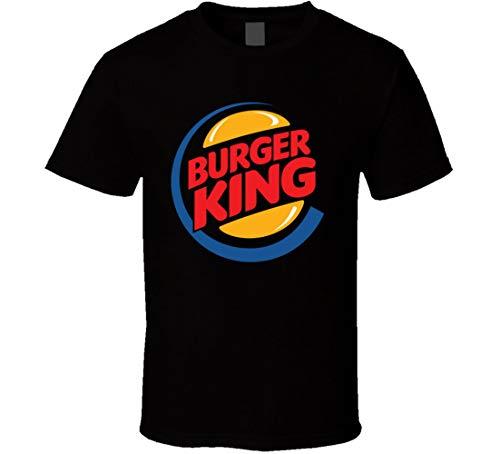 Burger King - playera, Negro, X-Large