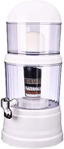 Warmwaterdispenser - 14 liter, waterfilter, kant-en-klare kunststofdispenser Verminder lood en andere zware metalen, Filtratie Waterkoeler Fles Filters Inbegrepen