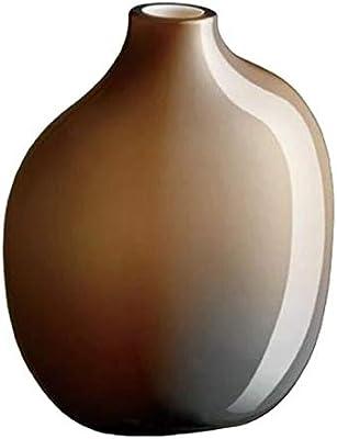 KINTO (キントー) フラワーベース ブラウン W90×D60×H110mm SACCO (サッコ) ガラス02 26054