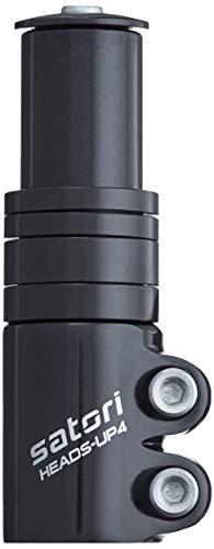 Satori Höhen-Adapter für Ahead-Vorbau, schwarz