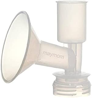 Maymom Breast Shield Flange for Ameda Breast Pumps (22 mm, Small, 1-Piece)