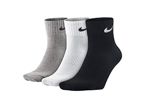 Nike Dry Leightweight Crew Scocken - Calcetines (3 unidades) multicolor L