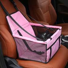Opvouwbaar honden zitje - Dieren zitje – Puppyzitje – Auto Bench hond – Luxe autozitje - Hondenmand - Veiligheidsband – Veilig onderweg - Grijs