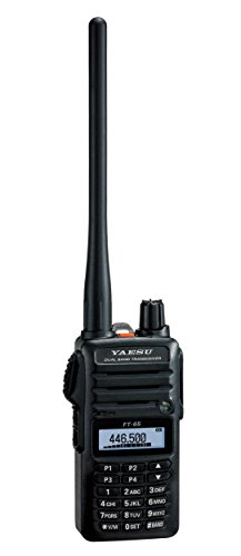 Yaesu Original FT-65 FT-65R 144/440 Dual-Band Rugged & Compact Handheld Transceiver, 5W - 3 Year Warranty