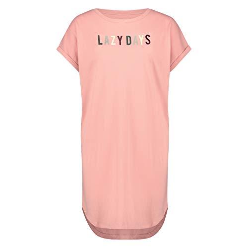 HUNKEMÖLLER Damen Nachthemd Rundhalsausschnitt Rose XS/S
