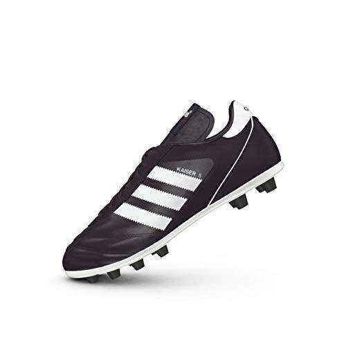 adidas Herren Kaiser 5 Liga Fußballschuhe, Schwarz (Black/Footwear White/Red Schwarz), 46 EU