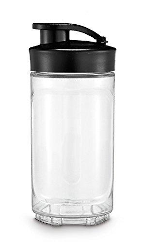 WMF Kult X Mix & Go / Küchenminis Trinkflasche 300 ml, Smoothie Flasche, Mixbehälter, Tritan-Kunststoff, BPA-frei, bruchsicher