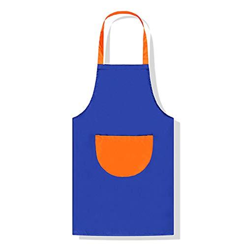 GLGSHOULIAN Tablier Femme,Dames Mode Tout-Match Tablier Bleu, Personnalisation Imprimé Tablier Cuisine Magasin Tabliers, pour Les Hommes Restaurant Chef Cuisine Classique Robe Tablier Réglable