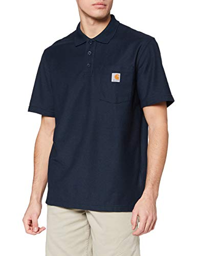 CARHARTT WORKWEAR Poloshirt »K570 Contractor's Work Pocket Polo« XL, navy