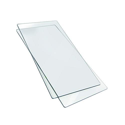 Sizzix, Planchas para estampar en tejido, Transparente, 37 x 15.5 x 0.7cm