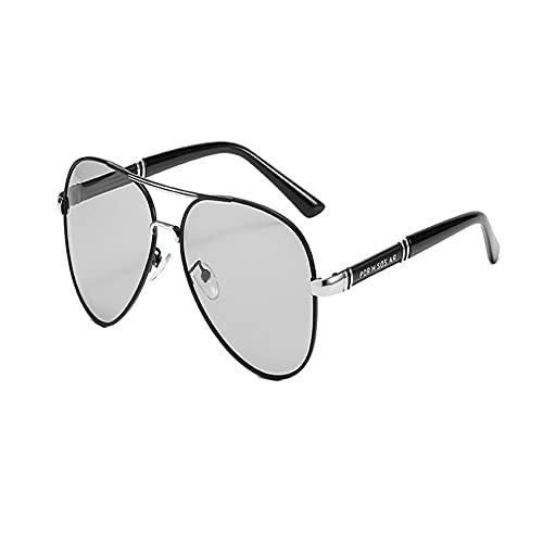 DFRFR Gafas de sol polarizadas Gafas de sol que cambian de color Gafas de sol Toad Mirror