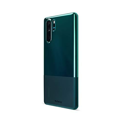Artwizz NextSkin Case Designed für [Huawei P30 Pro] - Ultra-dünne, elastische Handyhülle mit 0,8 mm Dicke, 2/3 Transluzent, 1/3 Matt - Petrol