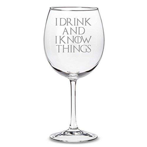 Copa de vino inspirada en Juego de Tronos
