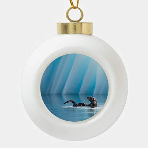 onepicebest - Palline di Natale in ceramica, decorazione per feste