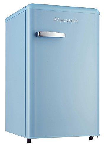 Retro Kühlschrank mit Gefrierfach Hellblau KS 95RT LB A+ 90 Liter Nostalgie Design