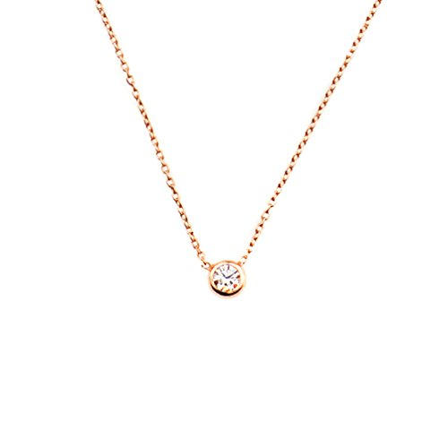 Kurshuni Halskette Glint klein Roségold