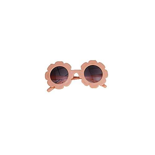 Greetuny 1X 0-4 año Gafas infantiles divertidas Lindo Flor Gafas de sol infantiles niña Playa Creativo Regalo