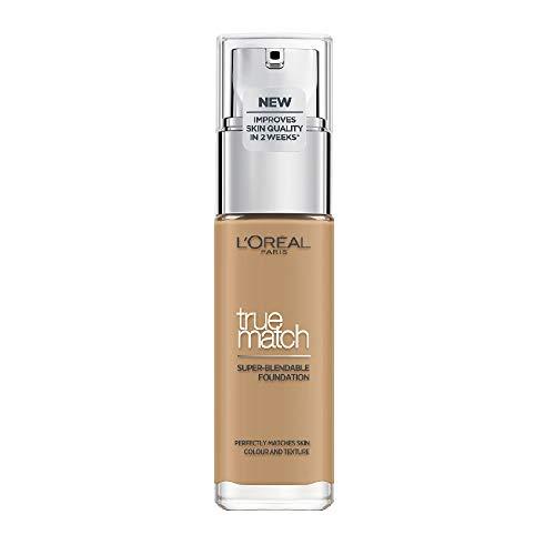 L'Oréal Paris Make-up designer True Match Foundation 6.5D/W Carame base de maquillaje 30 ml - Base de maquillaje (Caramel, 6.5D, Mujeres, 30 mm, 30 mm, 116 mm)