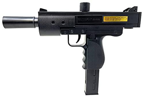 Seilershop Softair Pistole Uzi Airsoft Maschine Gun Federdruck 27cm 0,49 Joule