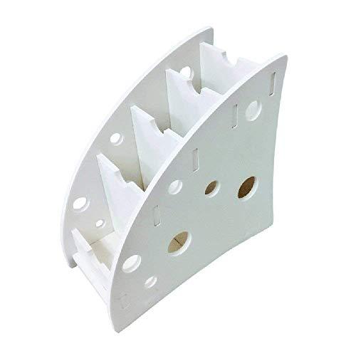 ShiSyan Estanterías y almacenaje, Caja de almacenamiento - Mesa de almacenamiento móvil del teléfono de escritorio estante de escritorio del estante - estante de madera universal - 18cm * 18cm * 9cm a