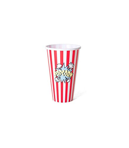 MCM Bol Palomitas Popcorn 1 litro polypropileno (Plástico Duro) (1 Litro)
