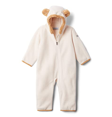 Columbia baby boys Tiny Bear Ii Bunting Snowsuit, Chalk, 6 12 US