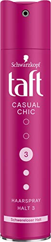 TAFT Haarspray Casual Chic Schwereloser Halt Halt 3, 250 ml