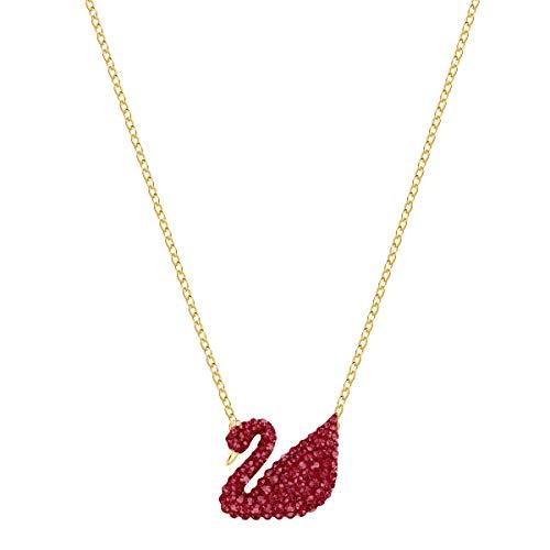 Swarovski Collana da donna con ciondolo e ciondolo placcato oro 5465400
