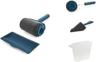 4 piezas Kit de tiras de cuero DIY Tiras de paleta de cuero de doble cara de madera con 3 piezas de compuestos de pulido Gobesty Asentador de Cuero